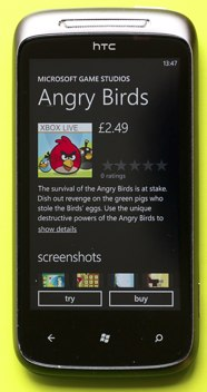 Angry Birds is available in the U.S. and internationally.