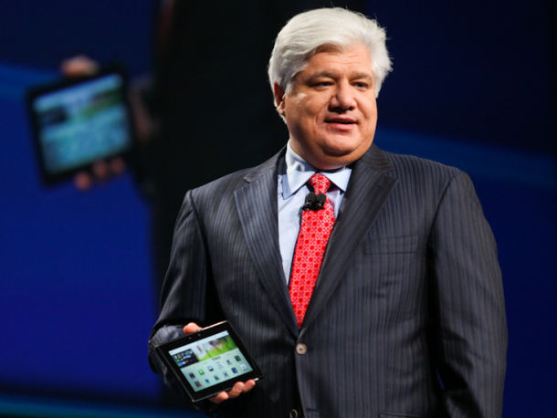 BlackBerry PlayBook and RIM co-CEO Mike Lazaridis