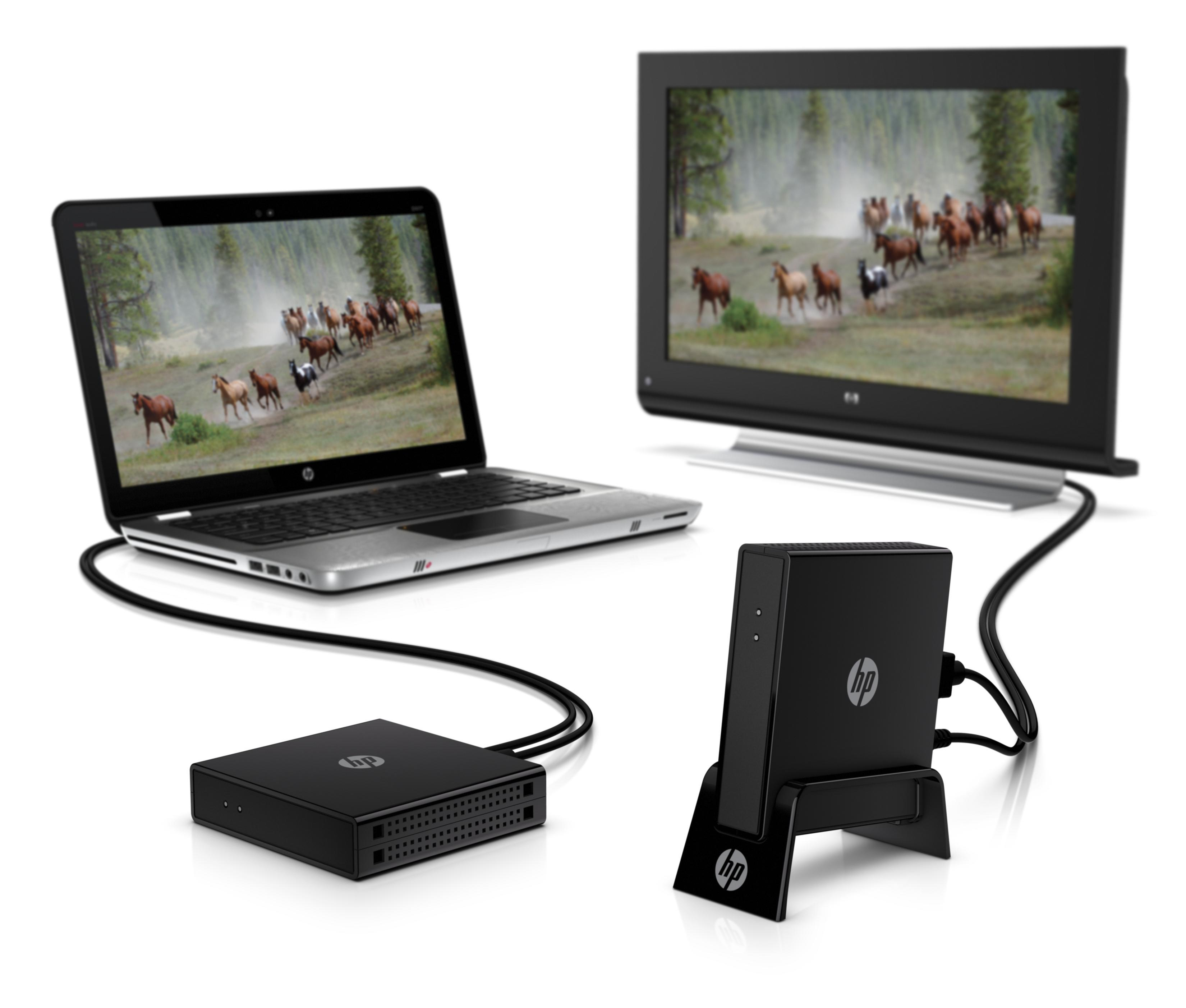 HP Wireless TV Connect: useful but bulky.