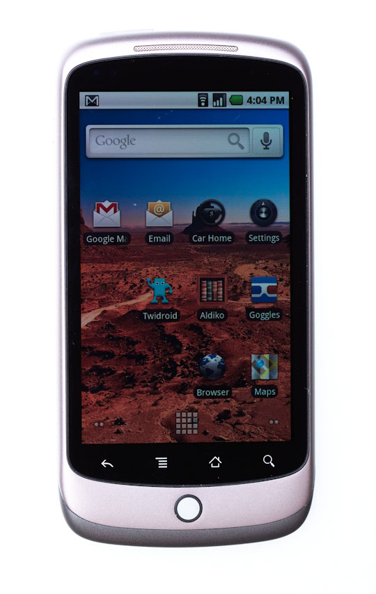 Google's Nexus One uses the comparatively bare-bones Android user interface, but I like it better overall.