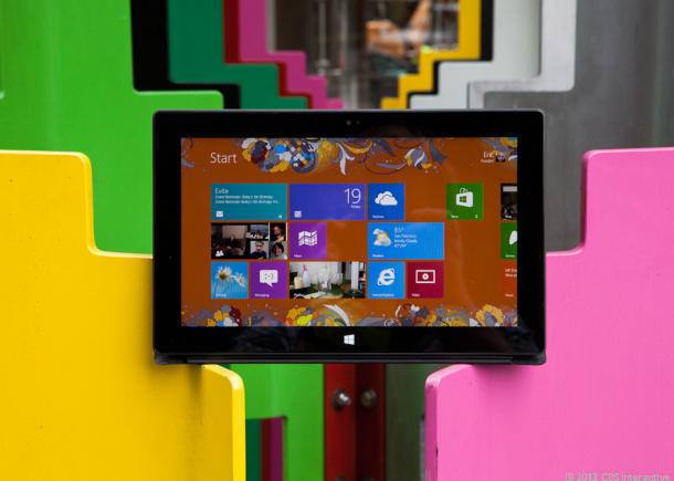"""<b><a href=""""http://reviews.cnet.com/tablets/microsoft-surface-rt/4505-3126_7-35332494.html"""">Microsoft Surface RT 2012 (read review)</a></b><br /><br /> Say what you want about Surface RT, but at a low price, Microsoft's 2012 Surface tablet makes an attractive quasi-Netbook that can run Office 2013 (which is included). It has 32GB of storage, too. (We'd go with the deal with the very nice keyboard cover.)"""
