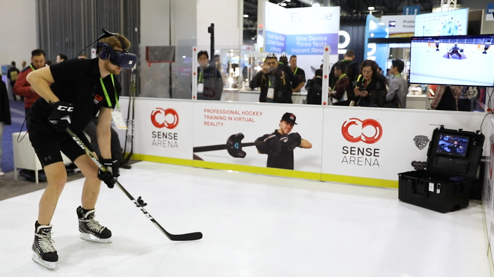 Video: CES 2019: Can VR hockey make you a smarter player?
