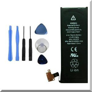 An iPhone battery replacement kit like this one can be had for as little as $8.