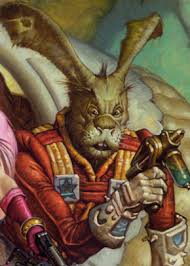 """Jaxxon may look like a goofy green rabbit, but he's a clever Lepi smuggler from Coachelle Prime in the """"Star Wars"""" comics."""