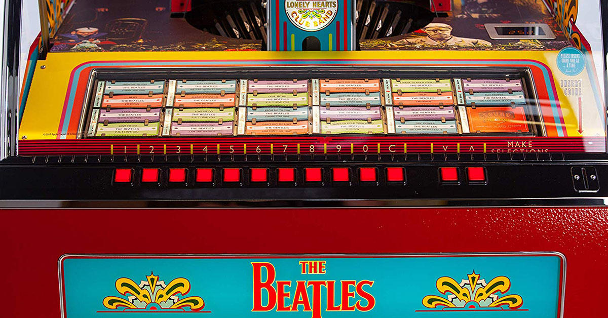 This $14,000 jukebox with a Beatles aesthetic