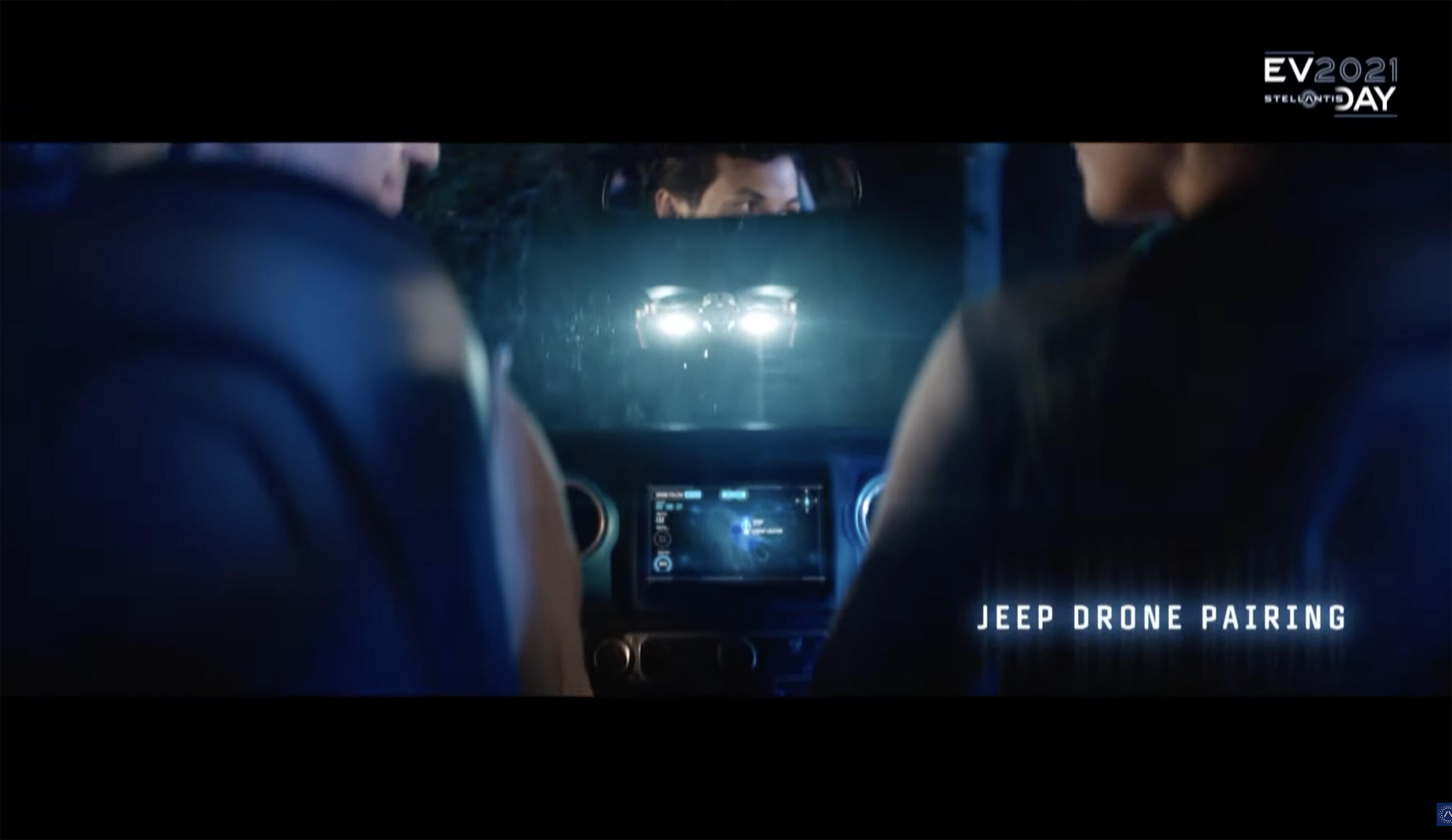 Jeep drone pairing