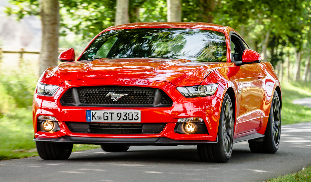 Ford Mustang (Euro Spec)