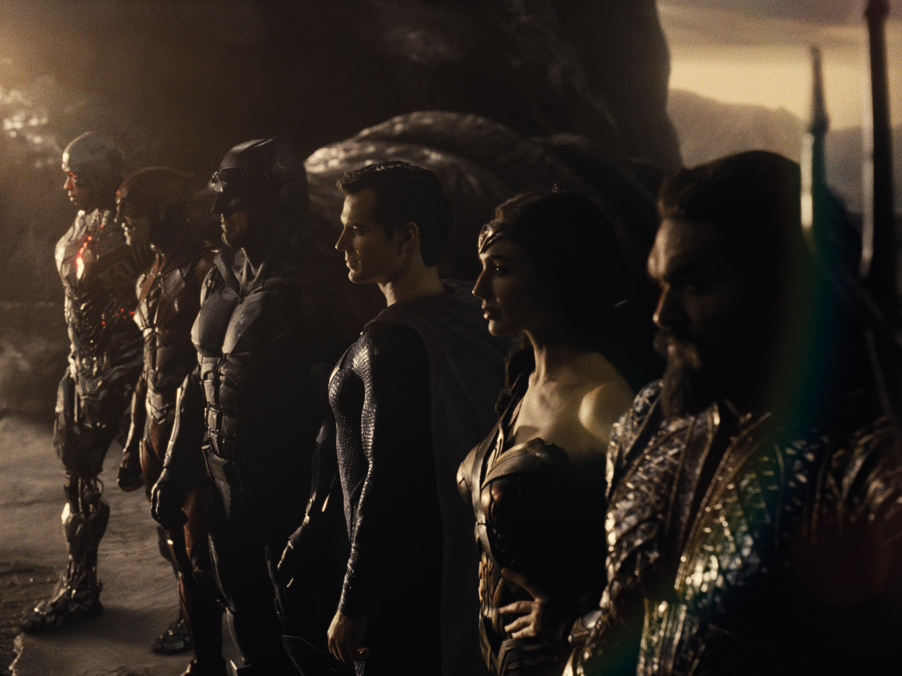 Justice League lined up in Snyder Cut