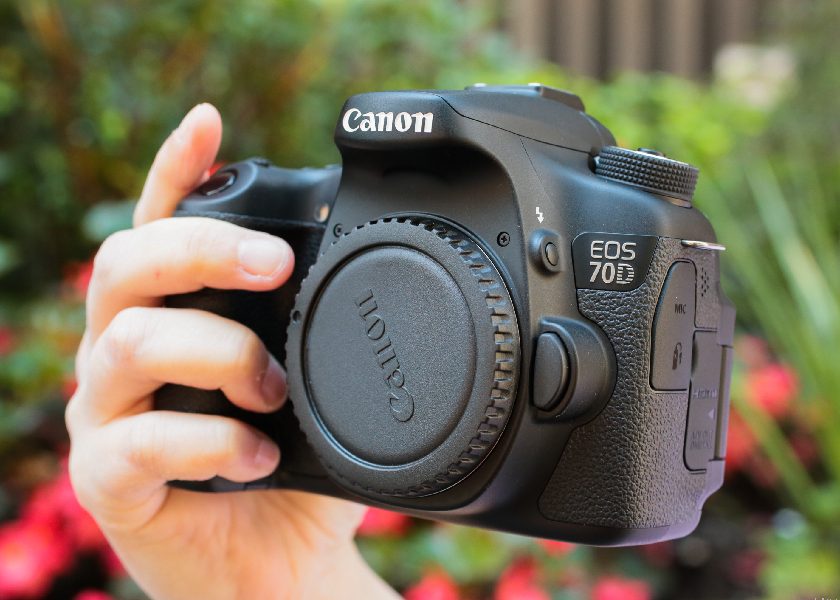 Canon EOS 70D (with 18-135mm STM Lens)