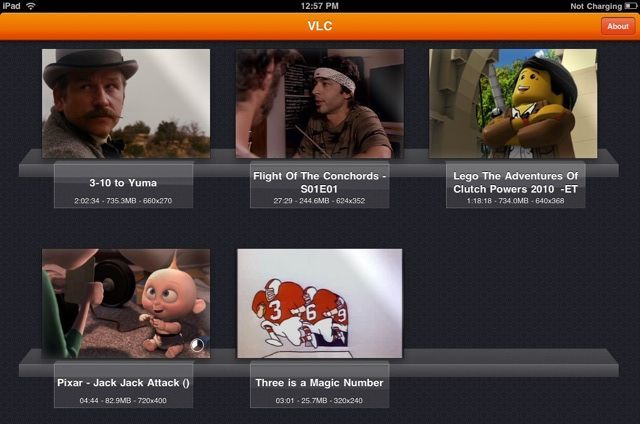 The free VLC Media Player app for iPad can handle just about any video format you throw at it.
