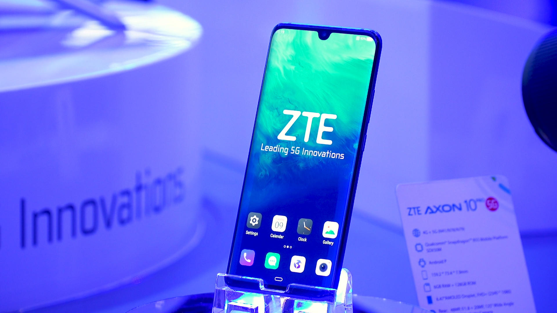 Video: A powerful selfie camera and 5G rule ZTE's MWC phones
