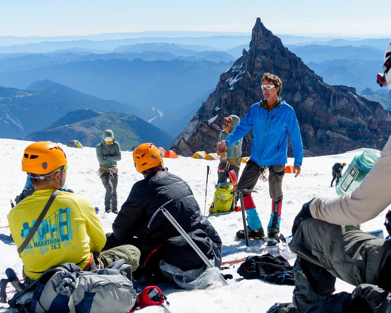 Win Whittaker uses Made for iPhone hearing aids in his work as a mountain guide.