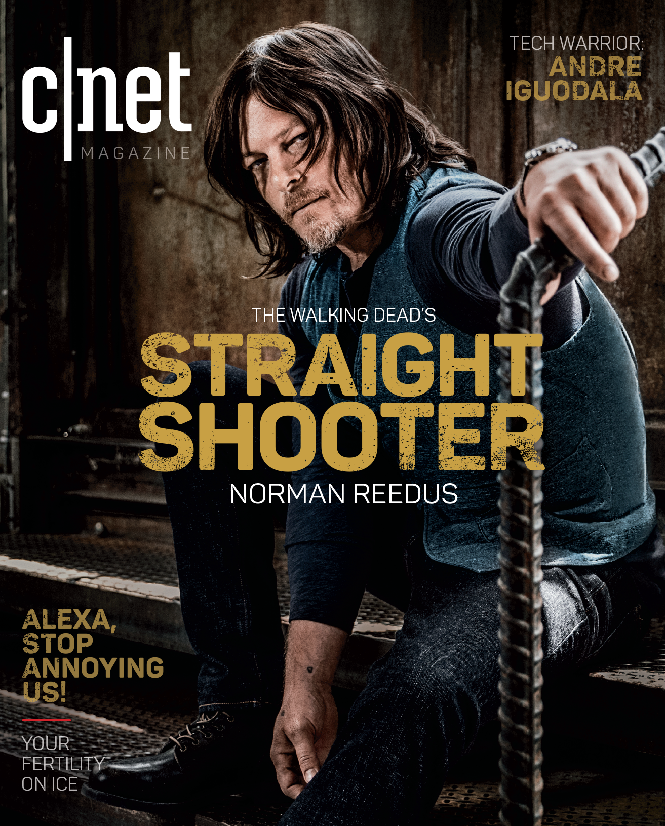 Norman Reedus cover