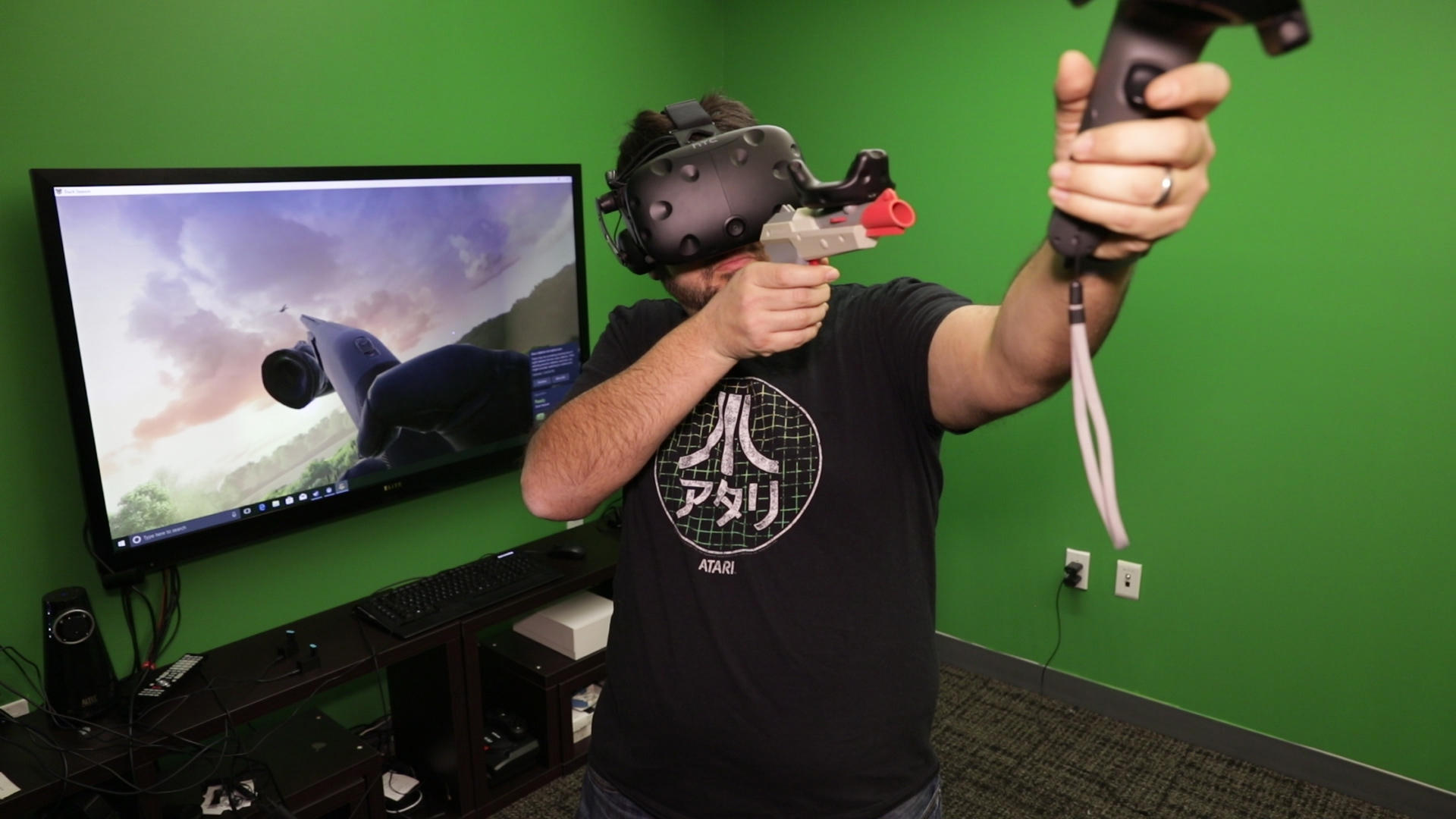 Video: HTC's Vive Tracker adds lots of accessories to your VR games