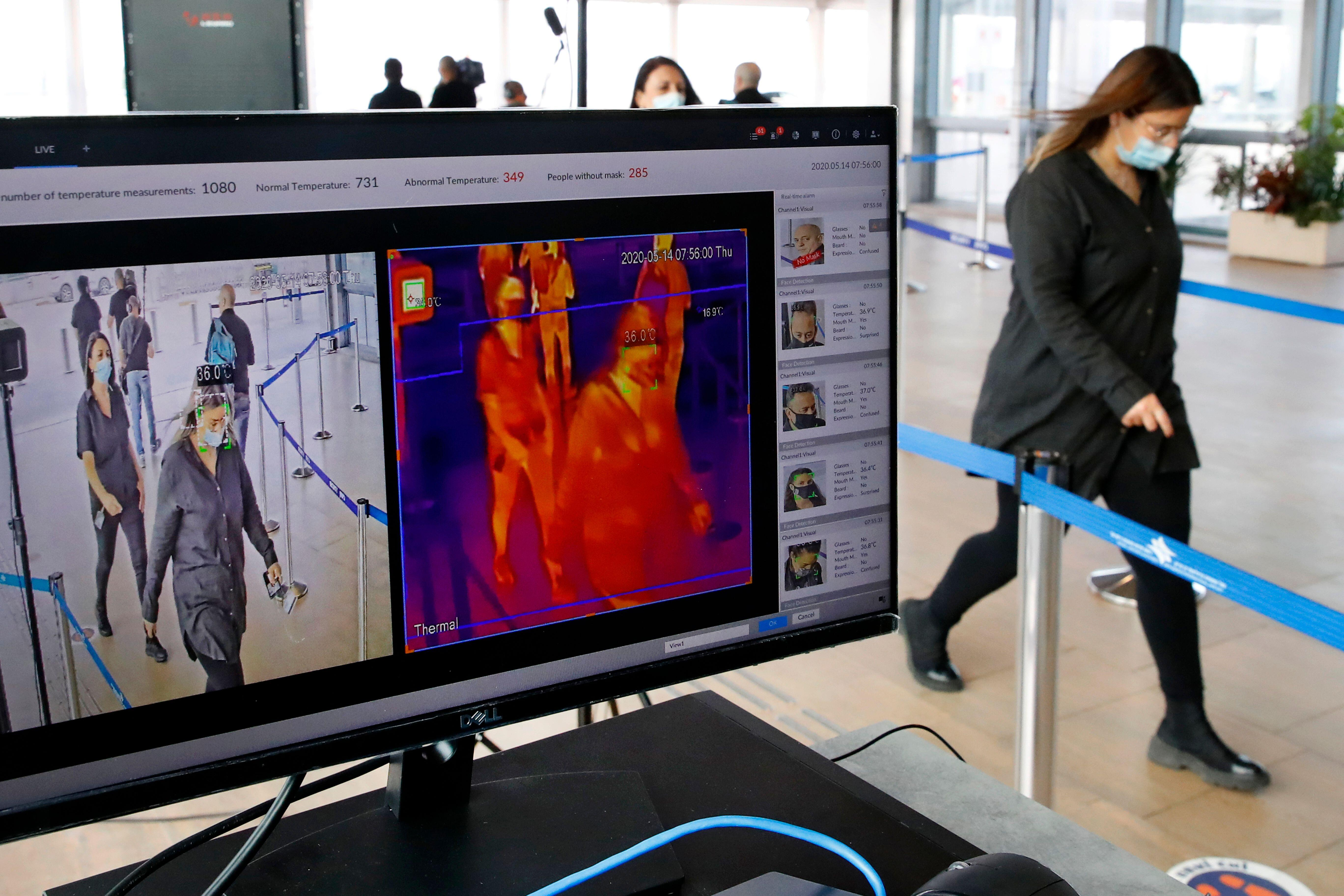 Israel: Body scans at airport