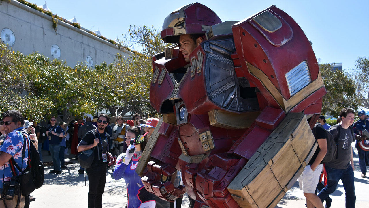 Video: Marvel Avengers cosplay at SDCC 2019