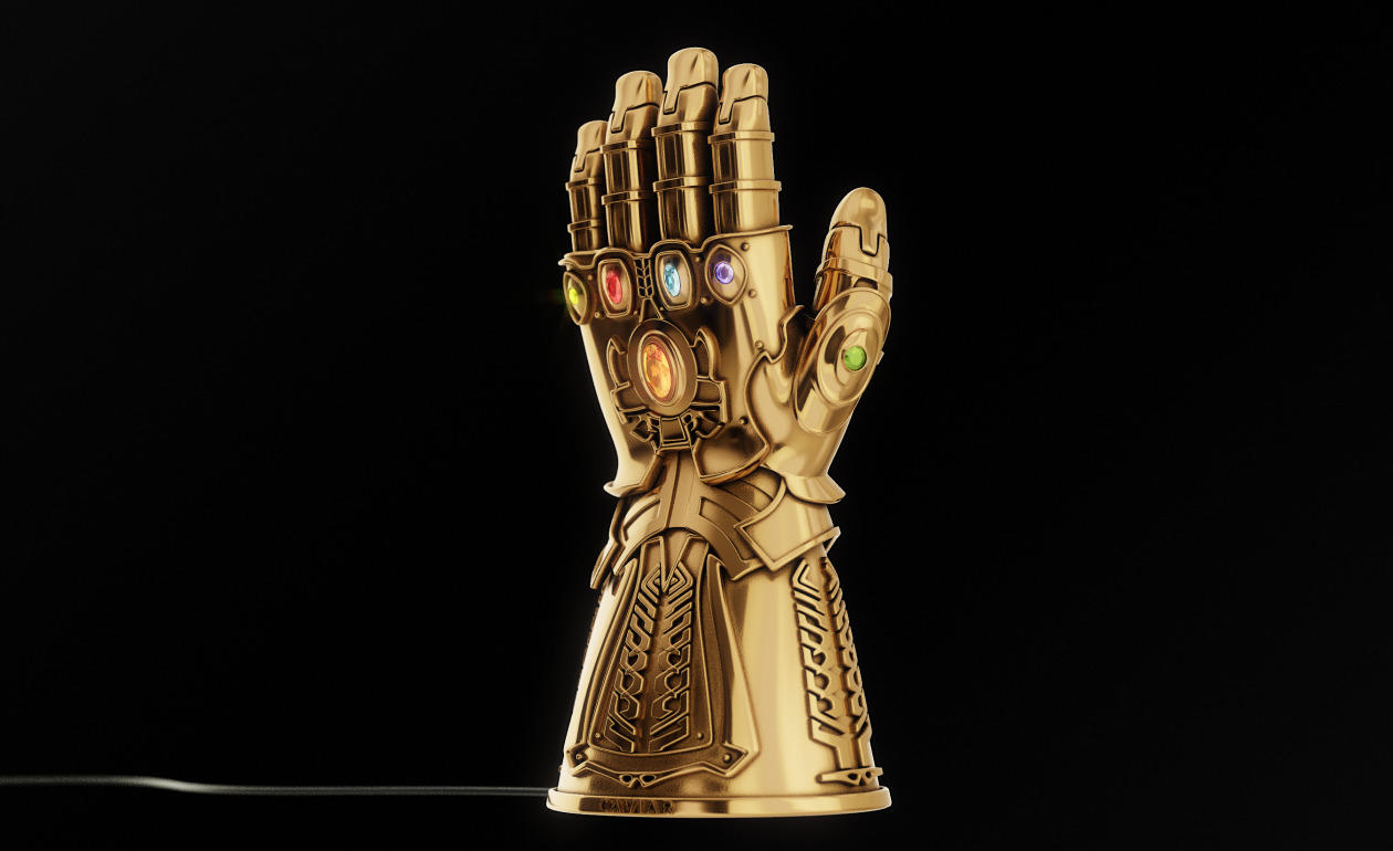 Caviar Infinity Gauntlet wireless charger