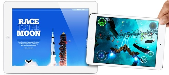 iPad Mini (R) is leaving the iPad in the dust, according to supply chain estimates.