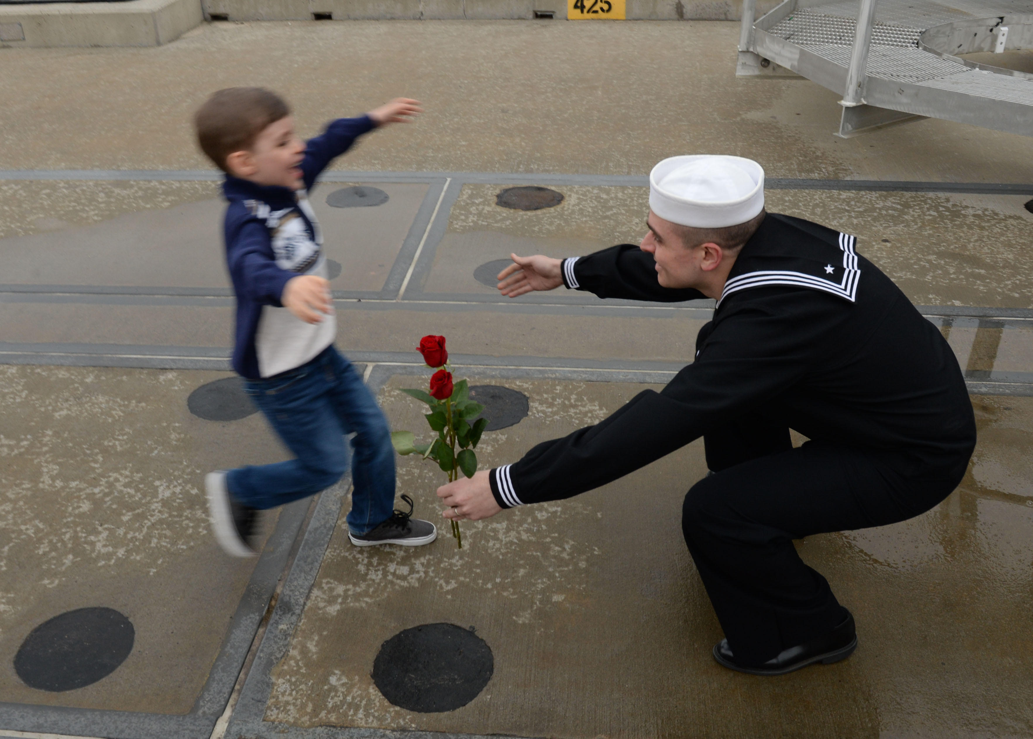 Homecoming for the USS Virginia