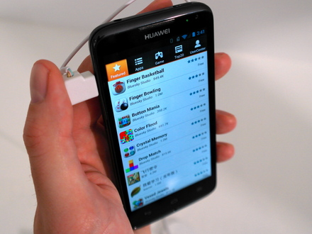 Huawei Ascend D1 apps