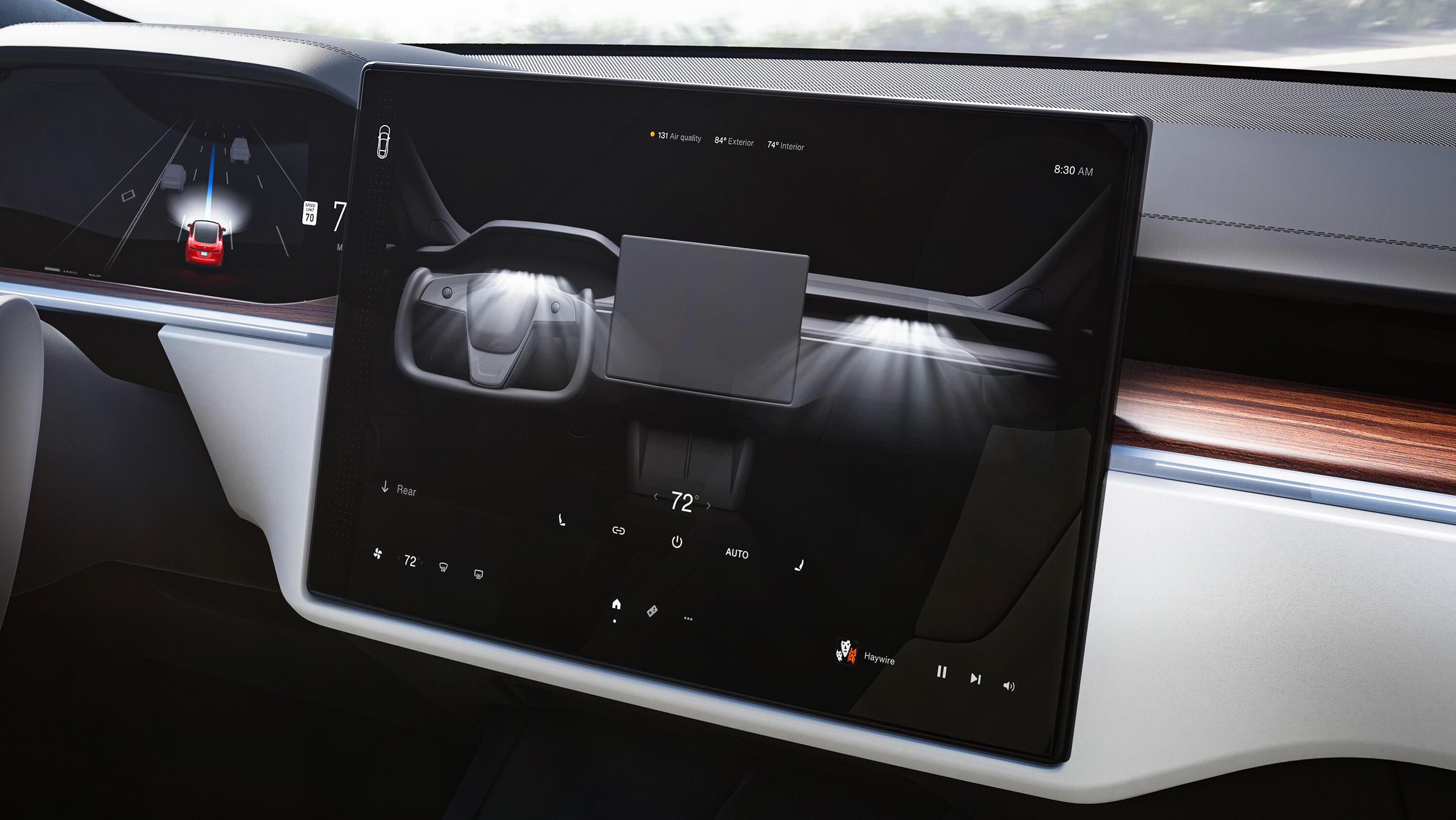 Video: Tesla's touchscreen gear selector raises concerns in the auto industry