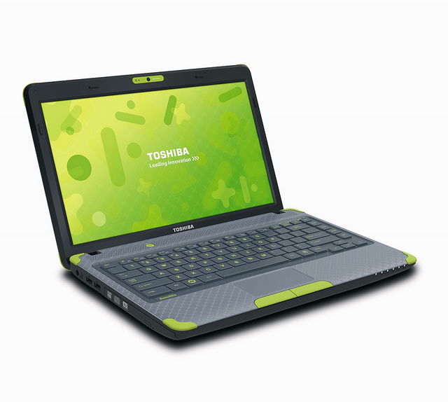 You know, for kids: the Toshiba Satellite L635.