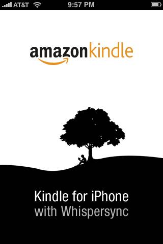 Amazon introduced a Kindle application for the iPhone and iPod Touch