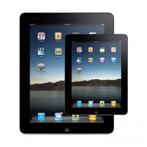 A smaller iPad in the works perhaps?