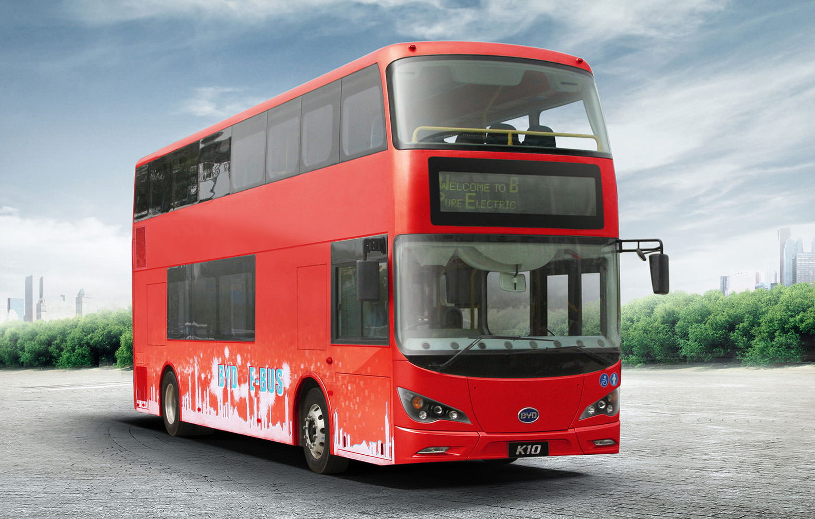 BYD Electric Double Decker Bus
