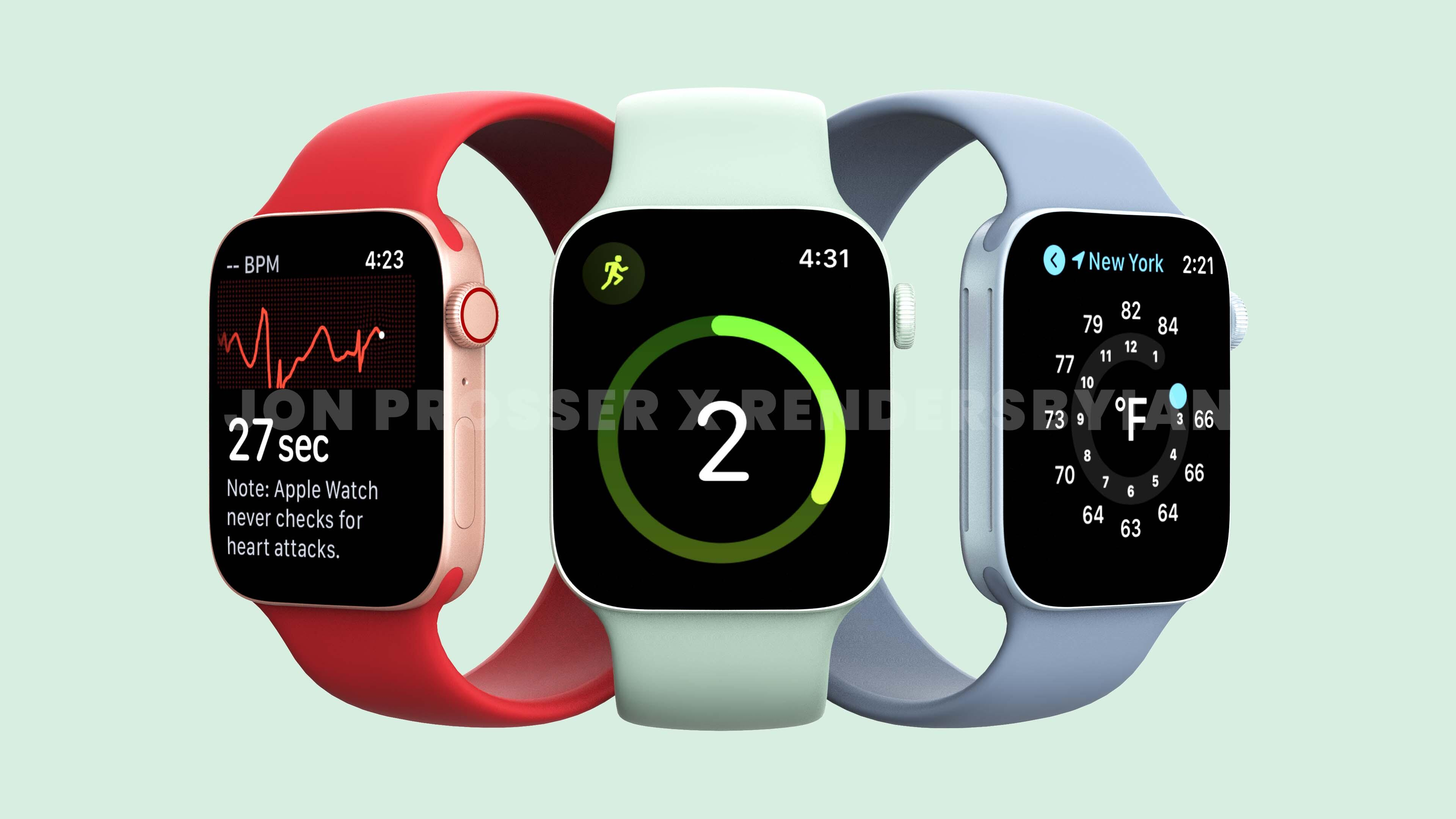 Apple Watch 7 rumors: the new smartwatch could arrive in September