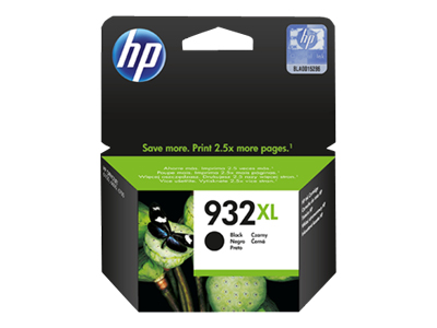 HP 932XL - High Yield - black - original - ink cartridge