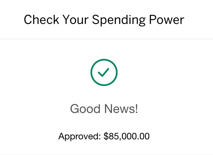 American Express Platinum Card's Check My Spending Power Tool