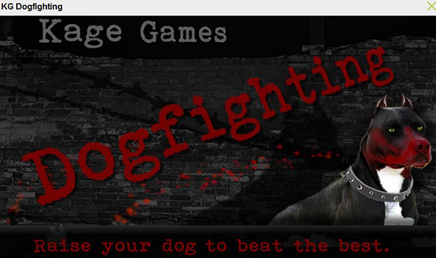 KG Dogfighing lets gamers pit one dog against another.
