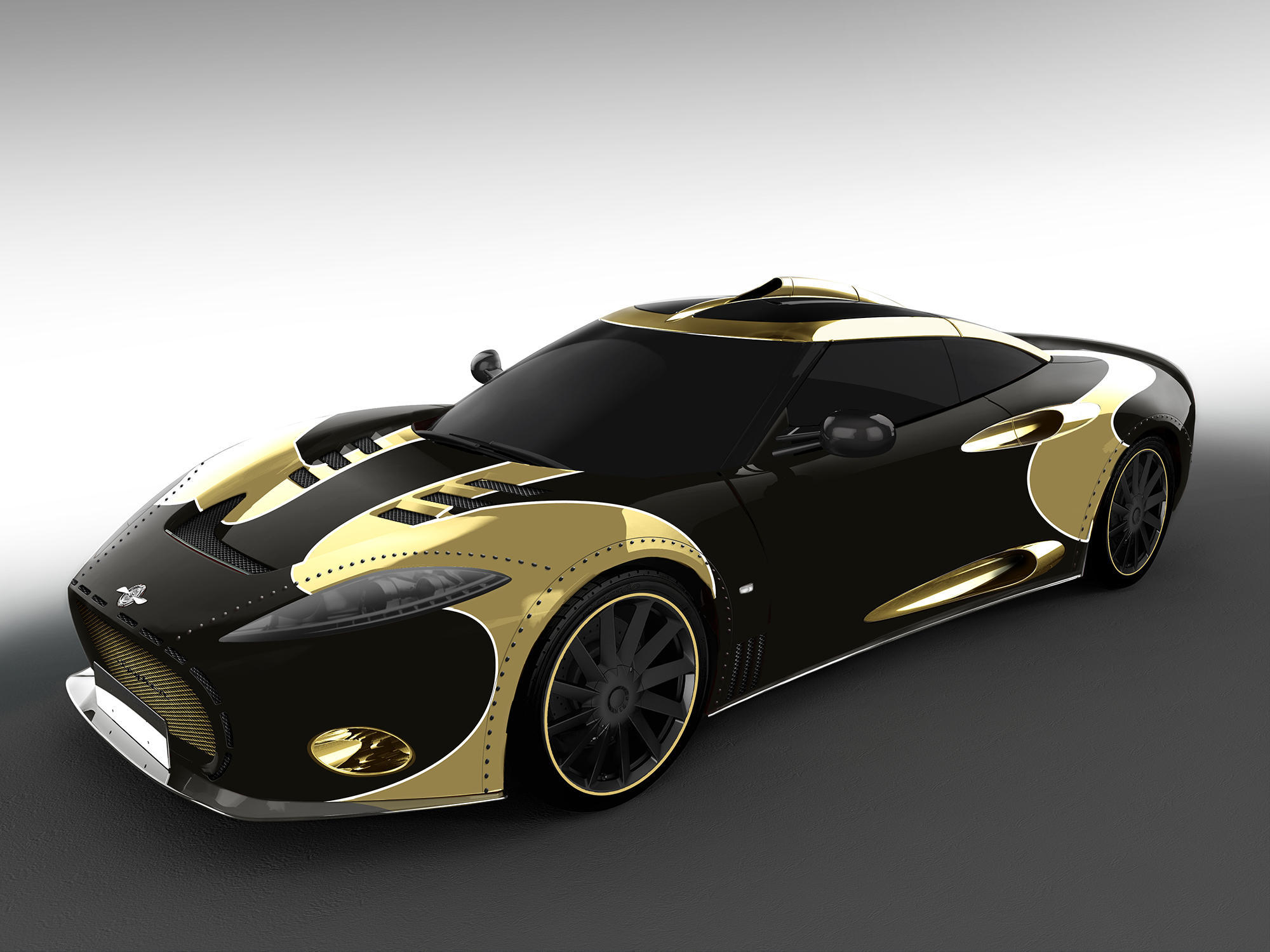 Spyker C8 Aileron LM85 special edition