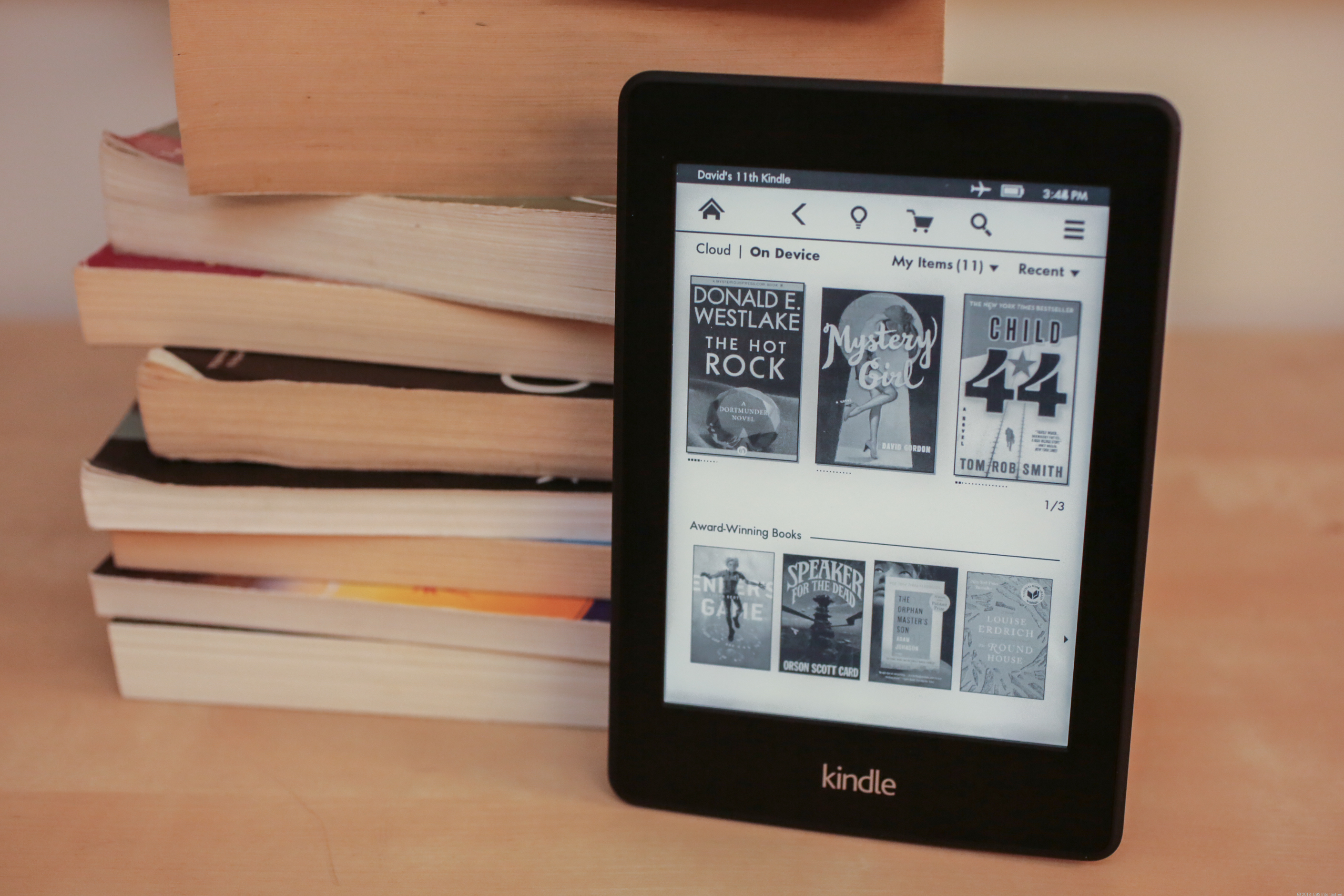 Amazon Kindle Paperwhite (special offers, 2013)