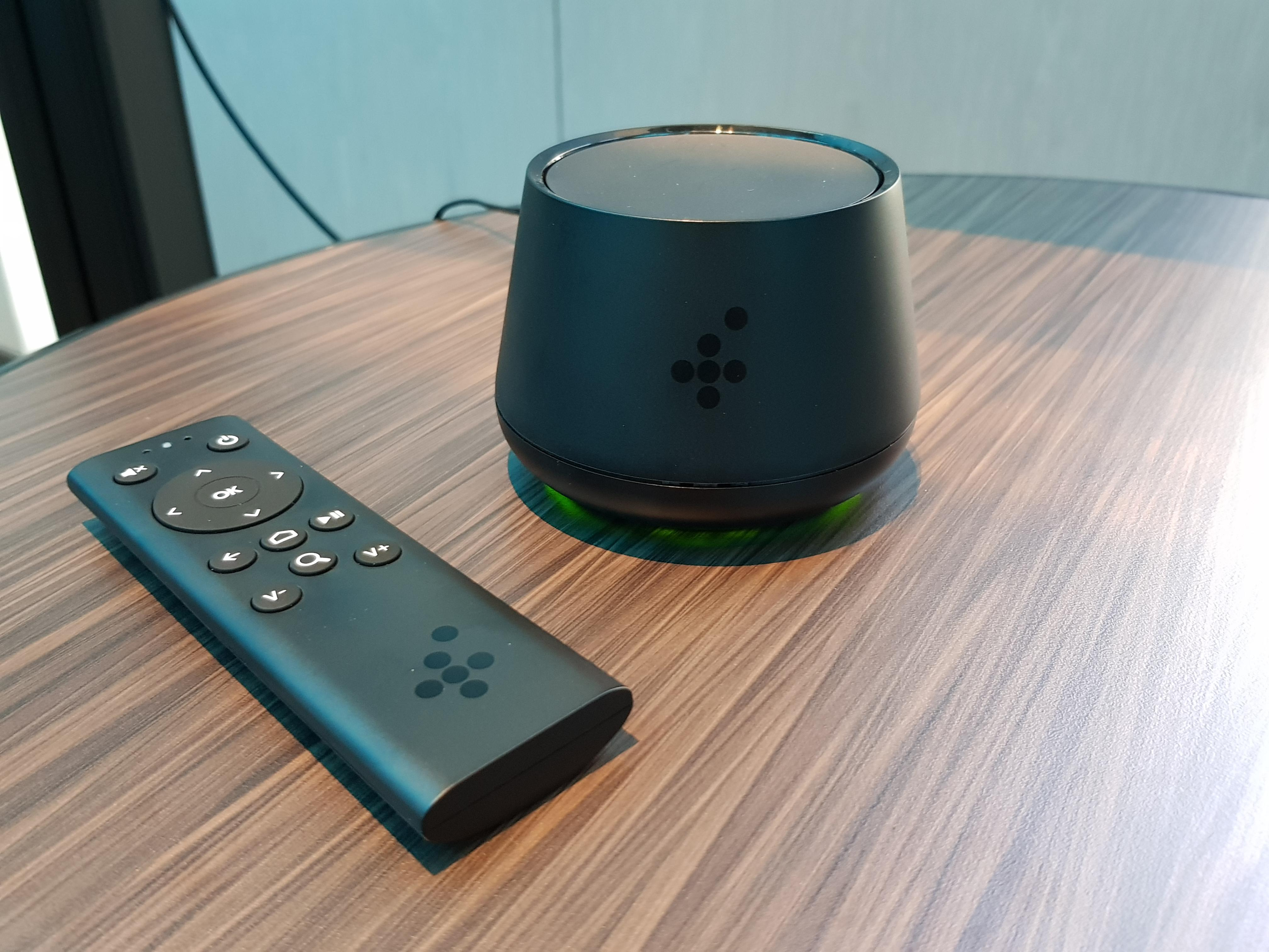 <p>With a 10cm footprint, the Foxtel Now Box is decidedly smaller than Foxtel's regular iQ set-top boxes.&nbsp;</p>