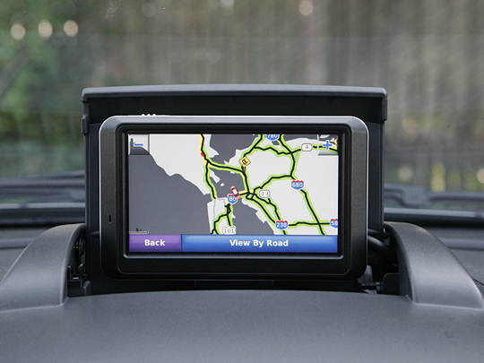 GPS navigation with traffic