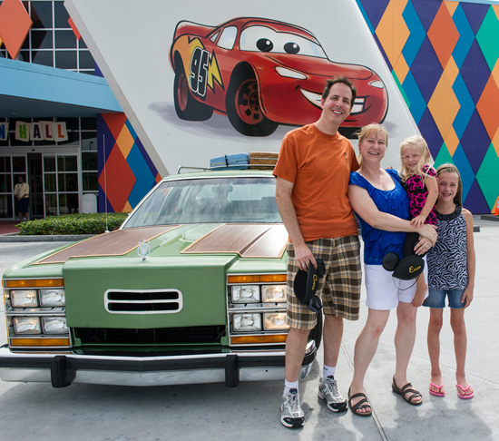 Griswolds with Truckster