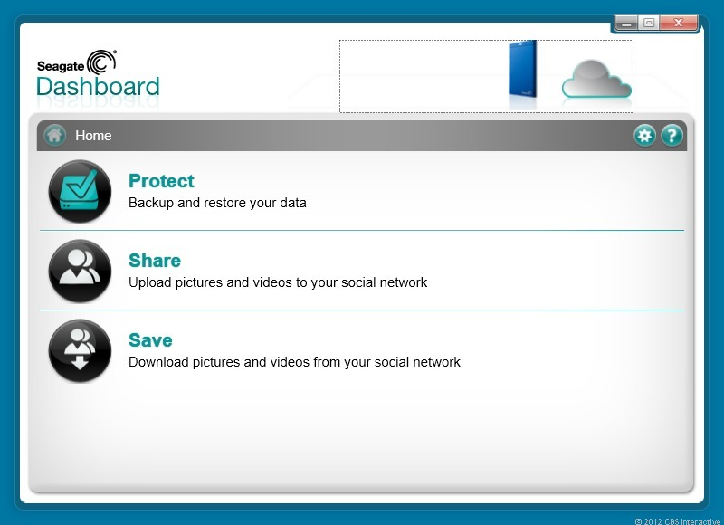 The Seagate Backup Plus' backup software is effective and easy to use.