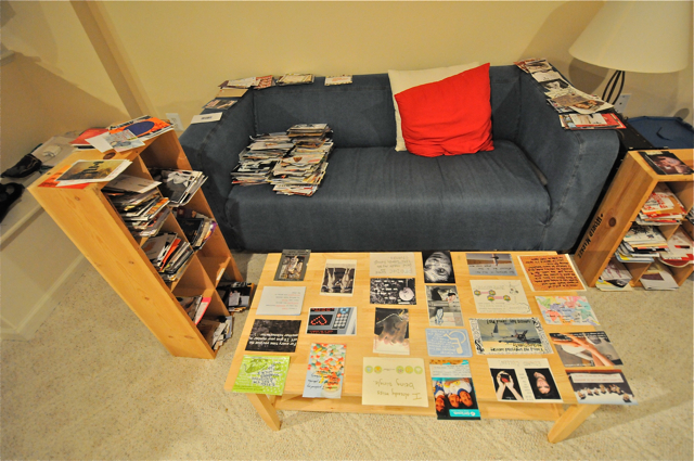 The couch where the magic happens