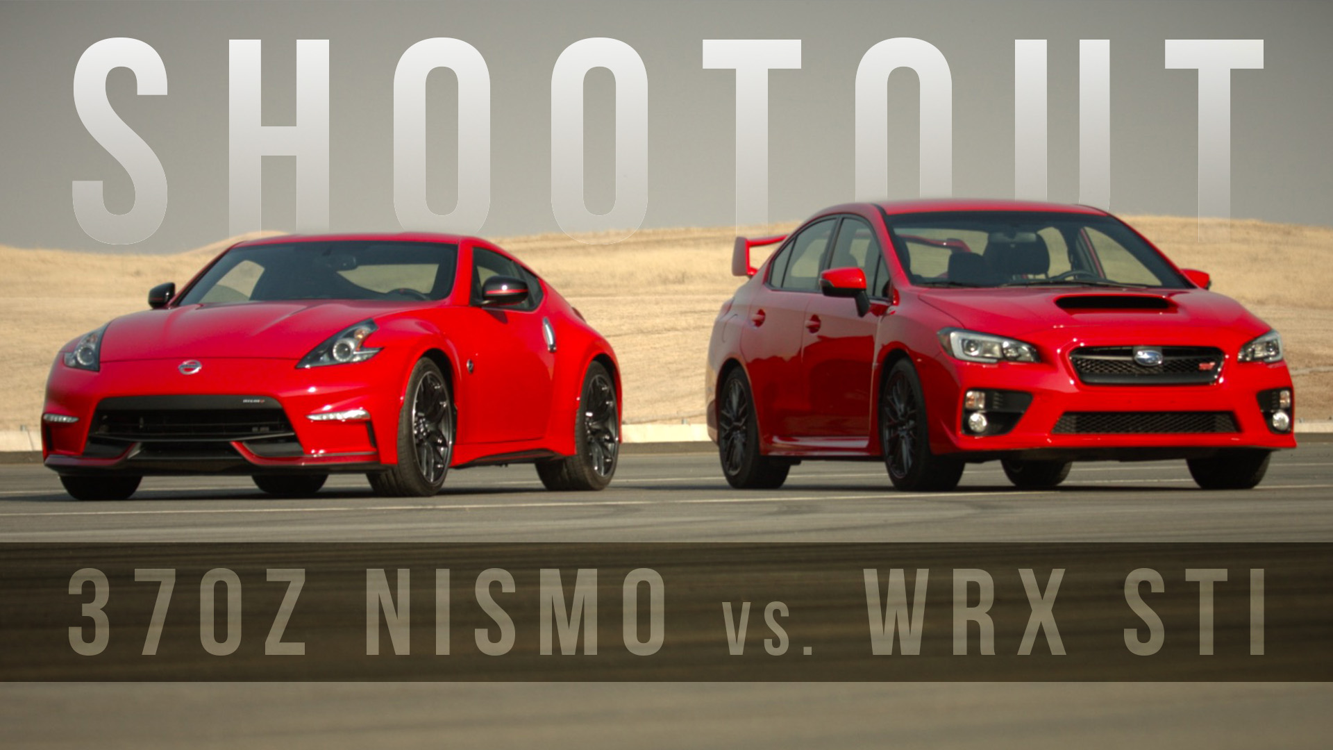Video: Shootout: Nissan 370Z Nismo vs. Subaru WRX STI are red-hot track toys