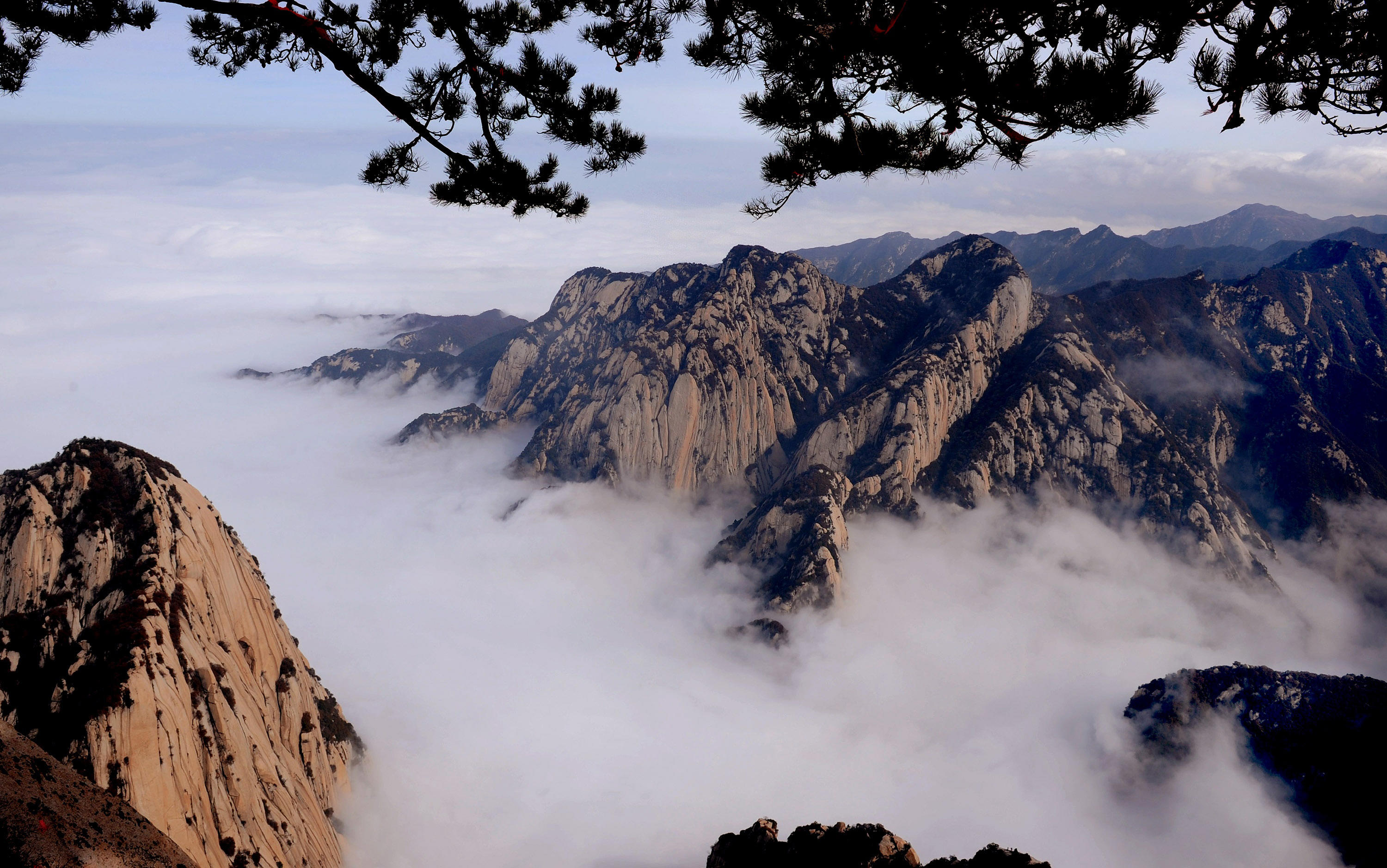 CHINA-SHAANXI-HUASHAN MOUNTAIN-SCENERY (CN)