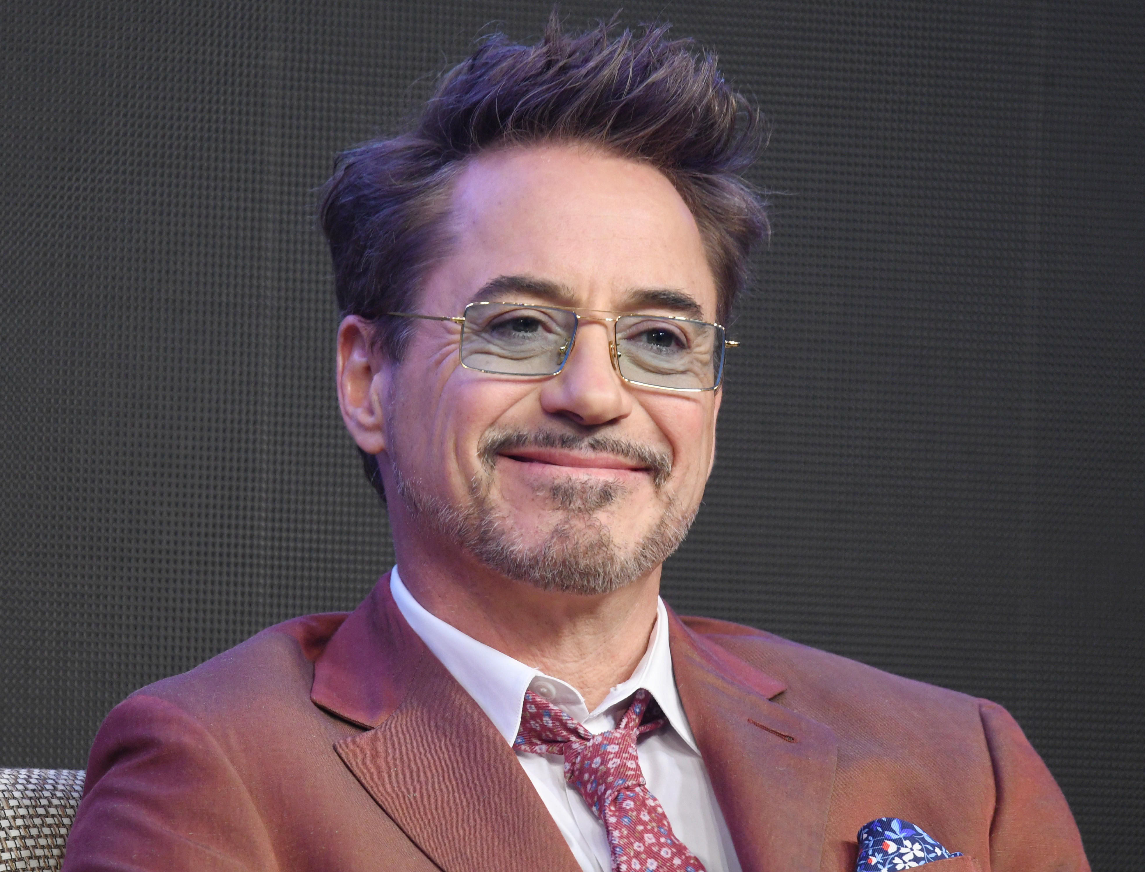 """<p>SEOUL, SOUTH KOREA - APRIL 15: Robert Downey Jr. during a press conference for the movie """"Avengers: End Game"""" at the Four Seasons Hotel on April 15, 2019 in Seoul, South Korea. (Photo by The Chosunilbo JNS/Imazins via Getty Images)</p>"""