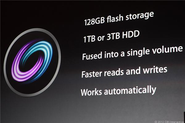 Apple introduces Fusion at its most recent product launch event.