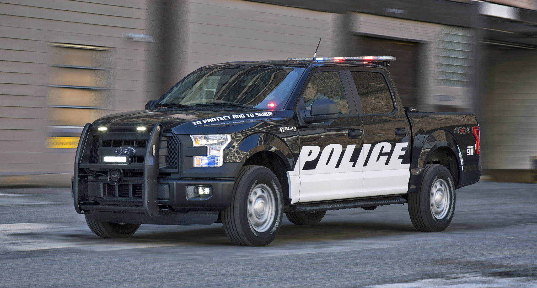2016 F-150 Special Service Vehicle