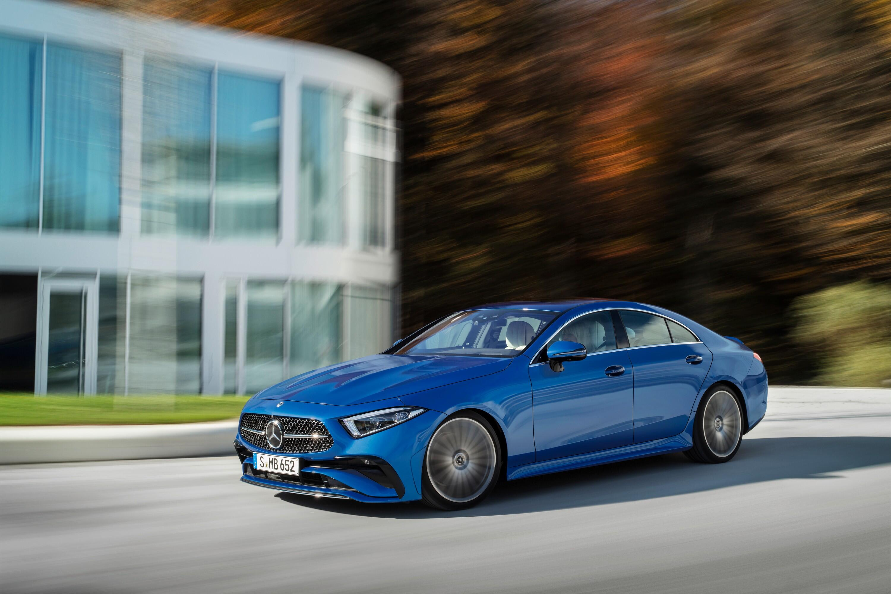 2022 Mercedes-Benz CLS 450: Small changes, small wonder     - Roadshow