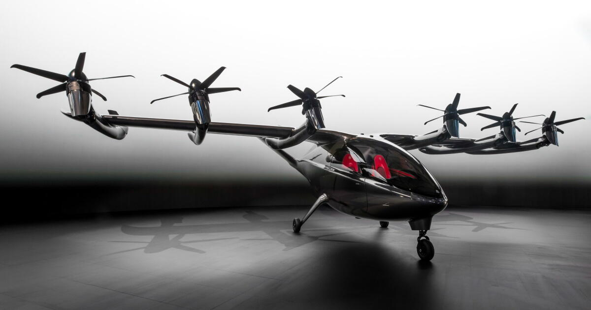 Archer debuts Maker urban air taxi, first flights planned later this year - Roadshow