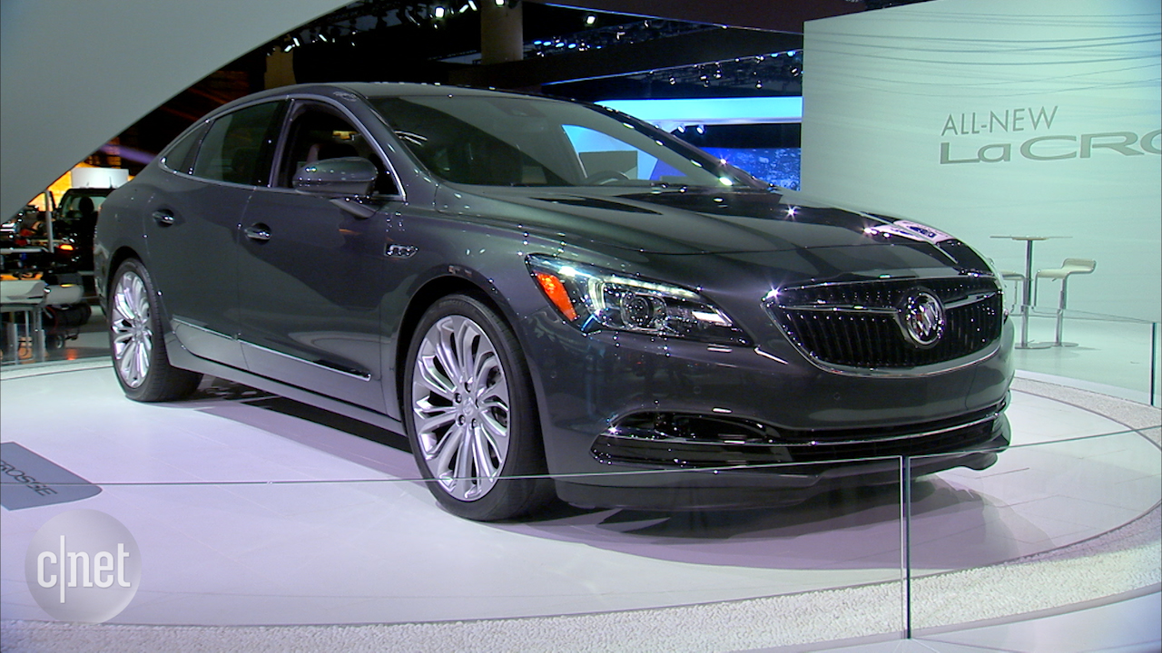 Video: 2017 LaCrosse gives Buick new elegance