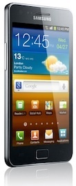 Samsung's Galaxy S II is selling quite well.