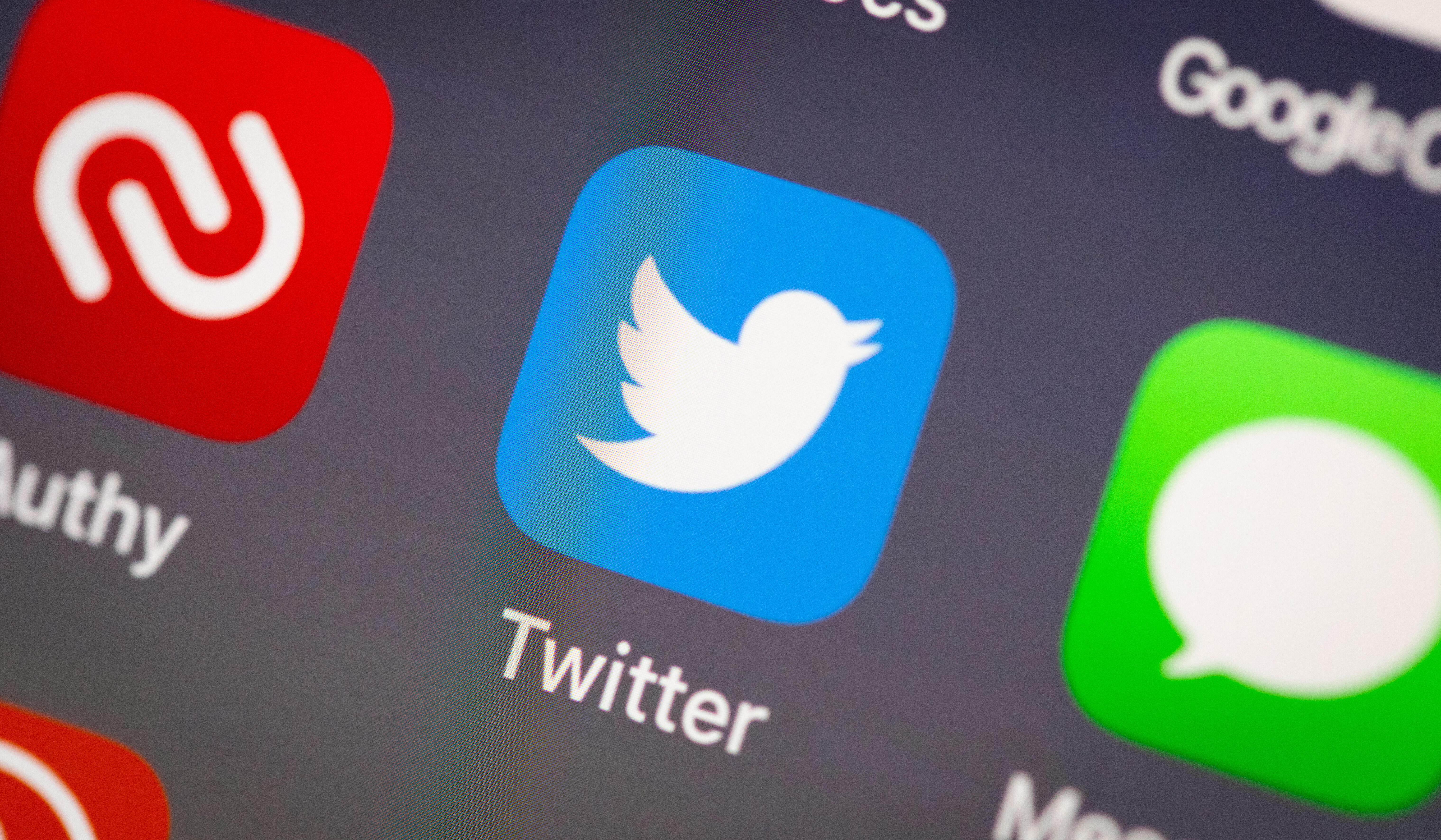 Twitter app icon and logo